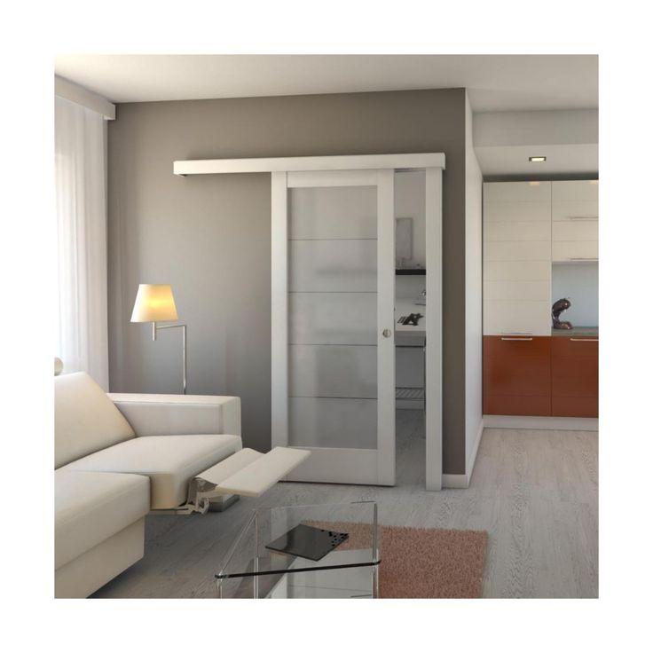 Drzwi Przesuwne Model B5 80 Uniwersalne Drzwi Przesuwne Wewnetrzne W Atrakcyjnej Cenie W Sklepach Leroy Merlin Tall Cabinet Storage Home Home Decor