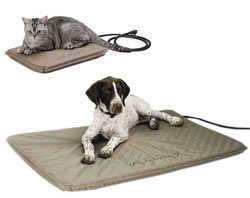 Lectro-Soft Outdoor Heated Pet Bed - Perfect for both Dogs and Cats! For more details please visit http://www.petstreetmall.com/Heated-Dog-Beds/465.html