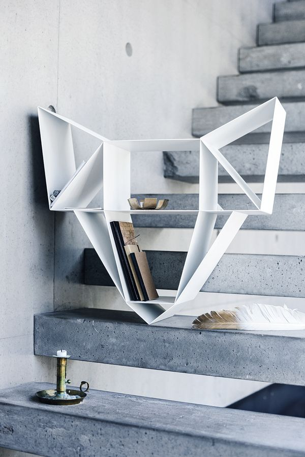 Wolf shelf by BEdesign