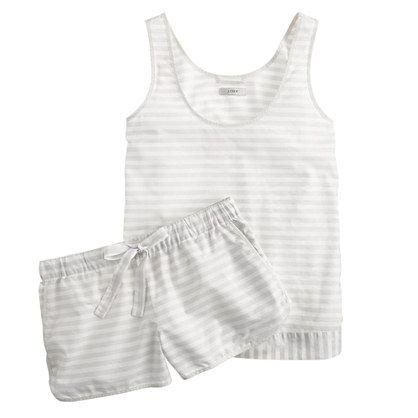 Vintage cotton pajama short set