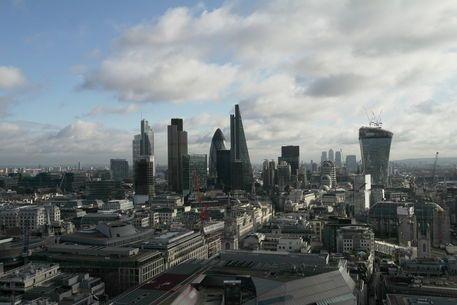 'Skyline London' von stephiii bei artflakes.com als Poster oder Kunstdruck $15.68