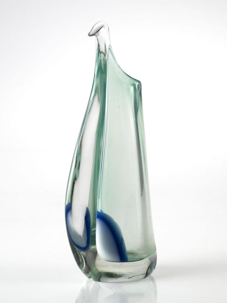 Leerdam Unica AM 1780 by A.D. Copier, 1956. Het Nationaal Glasmuseum, CC BY