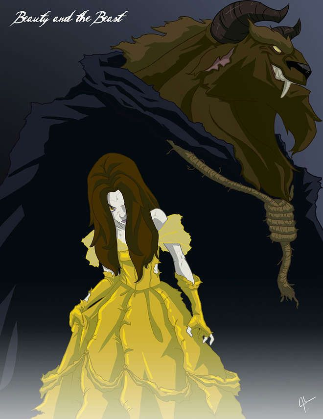 Les princesses Disney en mode maléfiques                              …
