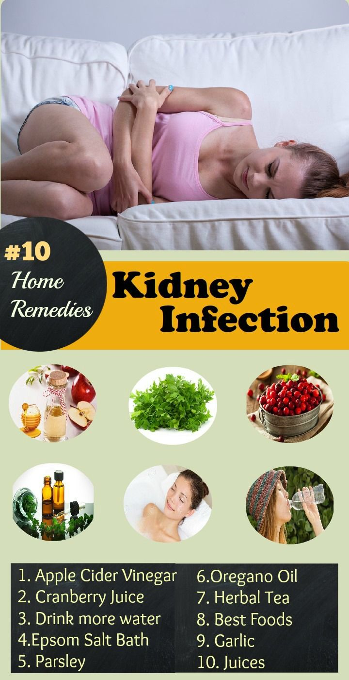 Home Remedies for Kidney Infection pain: 1.Apple Cider Vinegar 2.Cranberry Juice 3.Water 4.Epsom Salt Bath 5.Parsley 6.Oregano Oil 7.Garlic 8.Best Foods.. Easy ways to clear kidney infection fast.