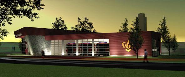 De nieuwe brandweerkazerne in Valkenswaard zal in januari 2014 in gebruik worden genomen. Het gebouw heeft een bruto vloeroppervlak van circa 1500 m2 en zal voertuigenstallingen, kleedruimten, werkplaatsen en kantoren voor de plaatselijke brandweer herbergen. Sommige ruimten zijn multifunctioneel te gebruiken voor eventuele maatschappelijke organisaties.