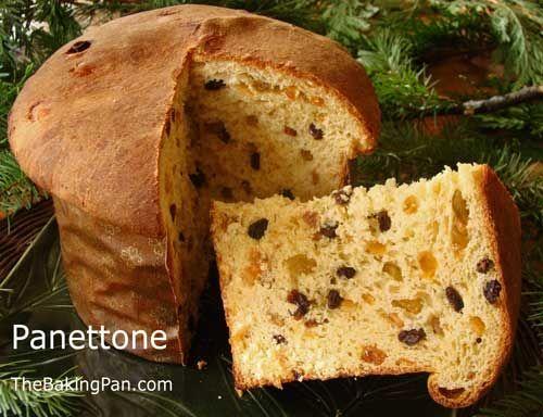 Italian Fruit Cake Recipes: Panettone Recipe! Love!! Although Normally Eaten At