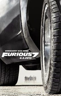 Furious 7 (2015)  PG-13 I wasn't a fan of the Fast and the Furious series until Fast & Furious 6, where the filmmakers said, screw it, we will just make everyone in this film a superhero. All I want to know about this film; will there be another 28-mile runway? http://lastonetoleavethetheatre.blogspot.com/2015/03/cinderella.html