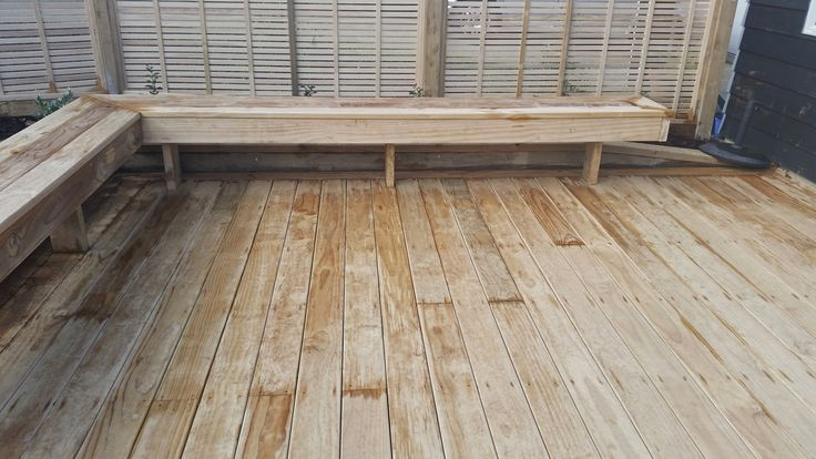 Decking Seats - New Lynn