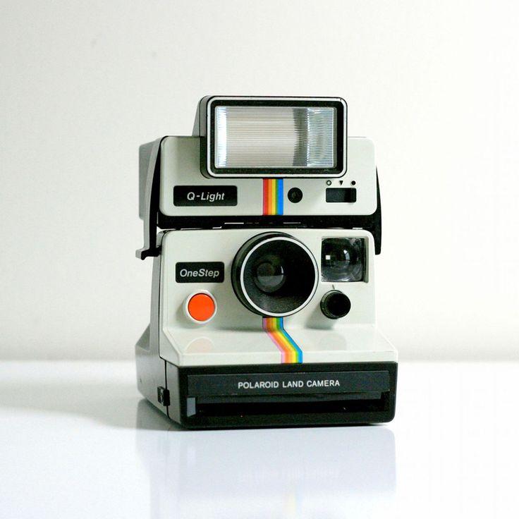 Polaroid One Step Camera.     Want this sooo bad!