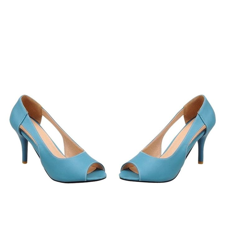 Latasa Womens Elegant Peep-Toe Hollow-Out High Heel Dress Sandals >>> Be sure to check out this awesome product.