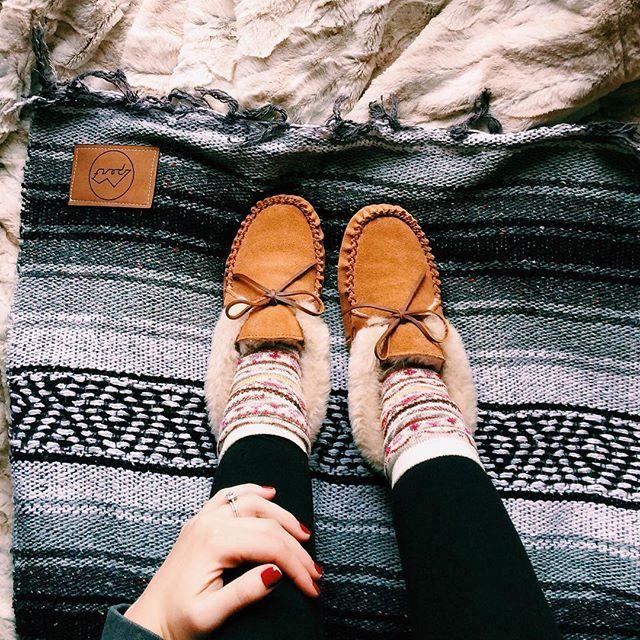 Slip into cozy #AEOSTYLE.