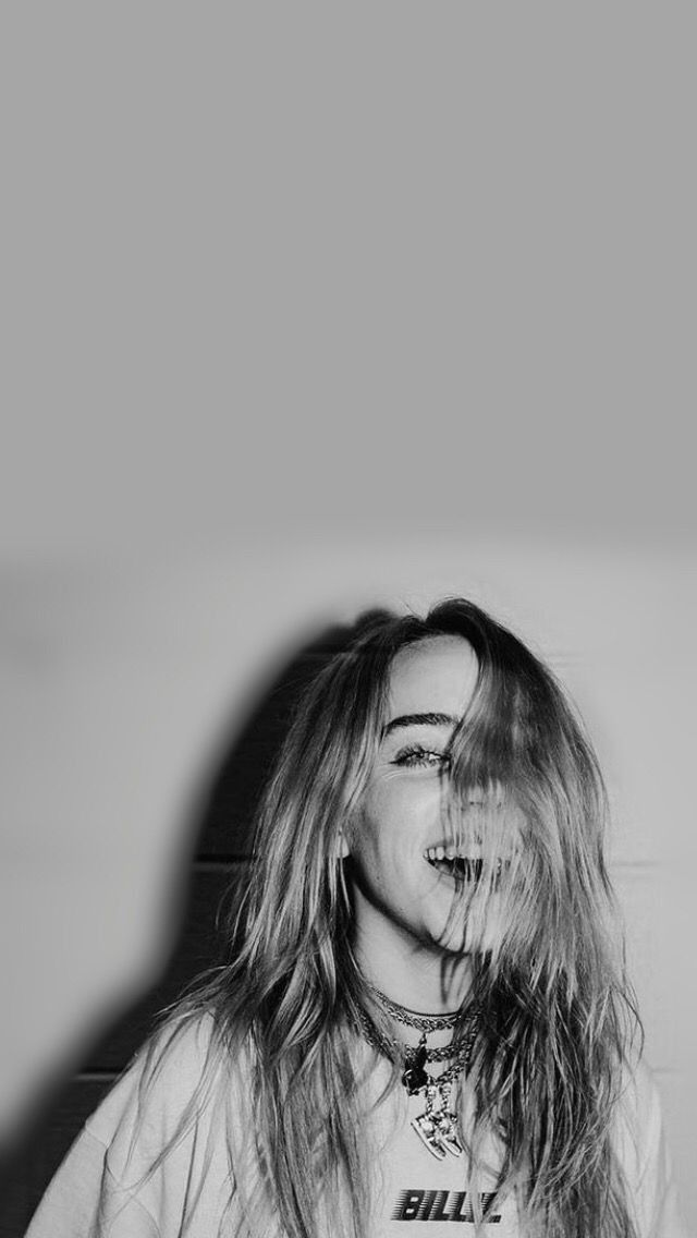 Her Smile Billieeilish Tumblr Wallpaper Pint Unluler Portre Sarkicilar