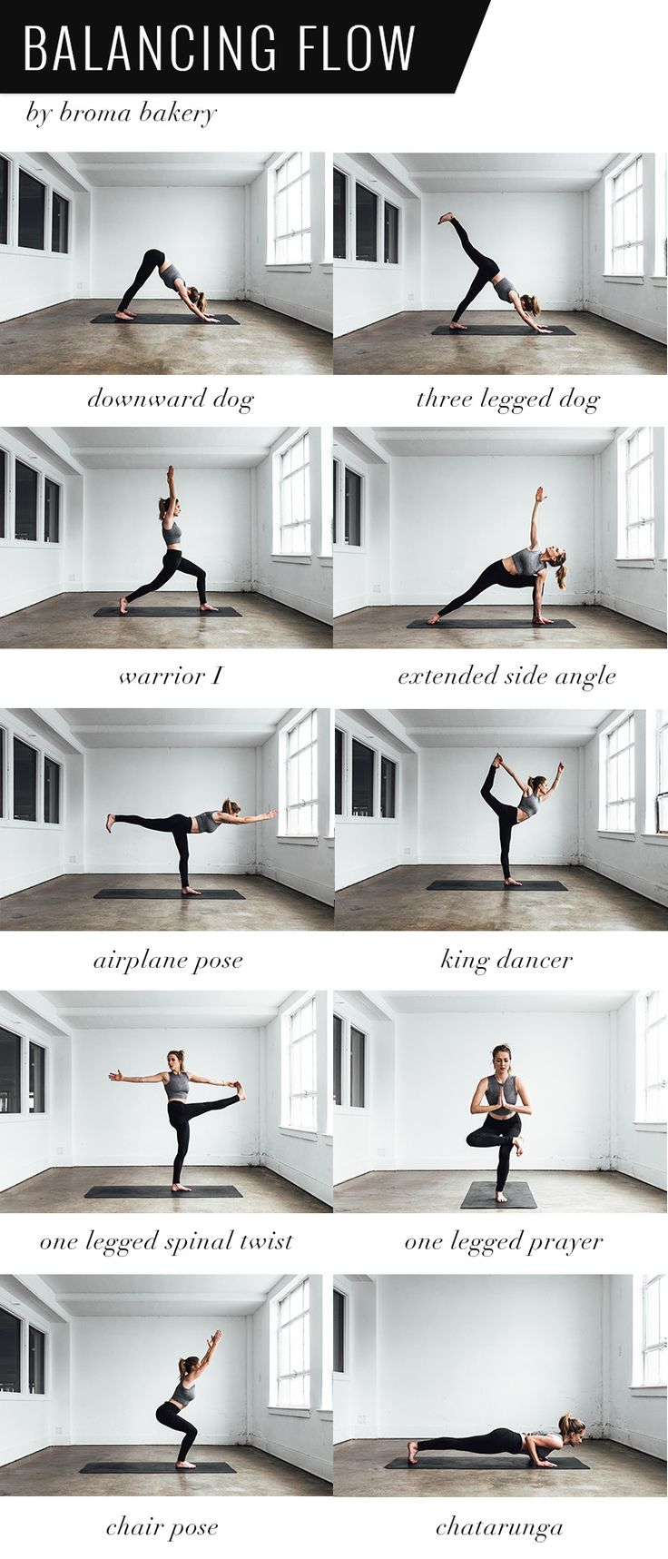 One pose will be done on the inhale and the next on the exhale. The result is a fast-paced flow that gets your heart rate up, and hopefully gets you lost in movement. Flow through 3-4 times on each side (should take 15-20 minutes)