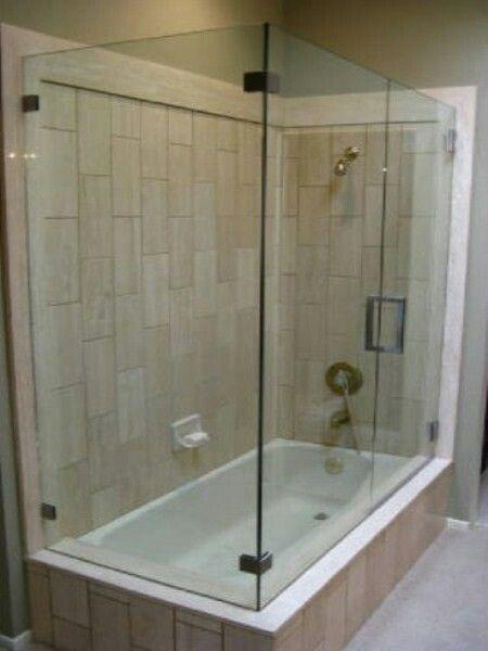 17 Best Ideas About Tub Glass Door On Pinterest Shower