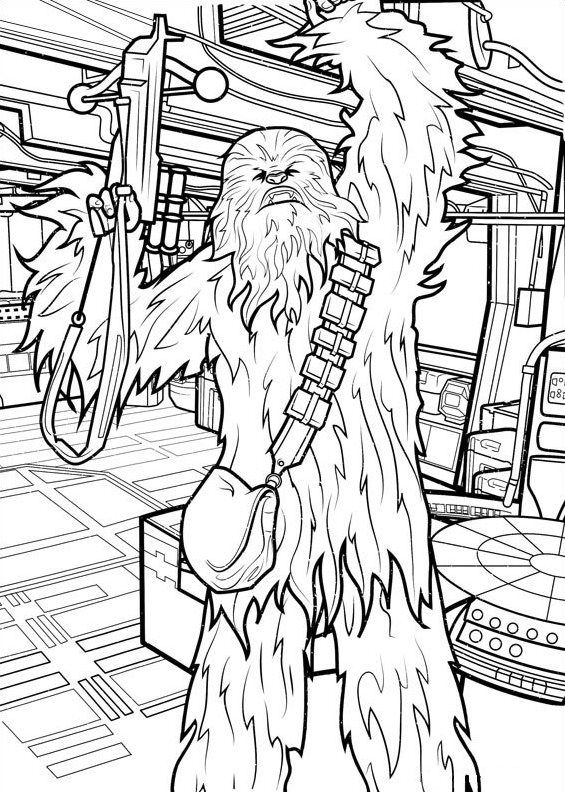 Chewbacca Coloring Pages Best Coloring Pages For Kids Star Wars Prints Coloring Pages Coloring Pictures