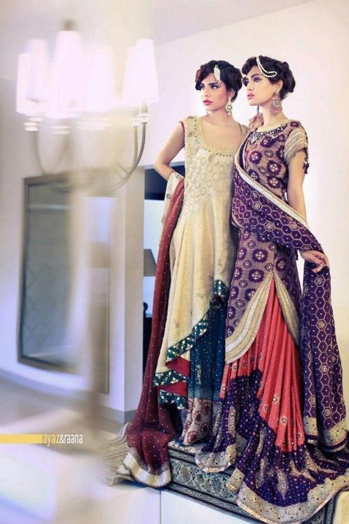 Yasmeen Jiwa Collection. Pakistani bridal clothing. ShaadiBazaar