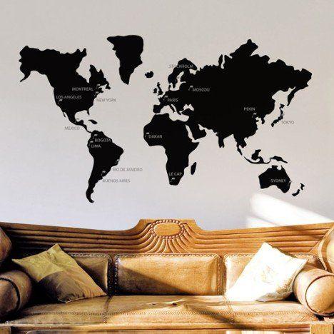 25 best map monde ideas on pinterest d corations murales universitaires c - Stickers vitres leroy merlin ...