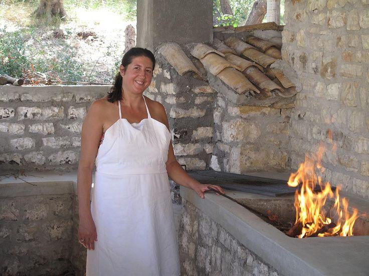 Dimitra, the cook of the villa Amalia