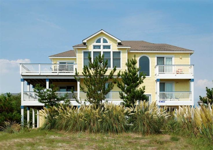 Twiddy Outer Banks Vacation Home Ocean Light Corolla Semi Oceanfront 6 Bedrooms Obx