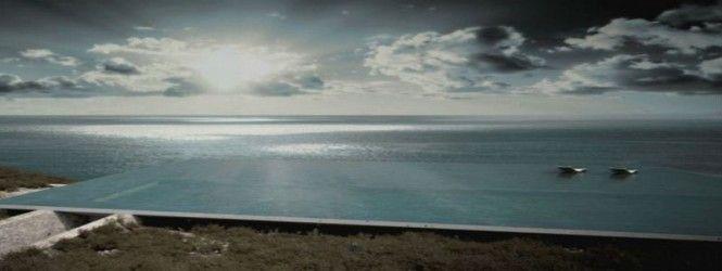 H ωραιότερη πισίνα του κόσμου φτιάχνεται στην Τήνο
