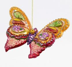 Colorful Butterfly - Polishchristmasornaments