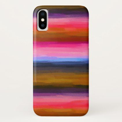 Pastel Colored Abstract Background #2 iPhone X Case - girly gifts special unique gift idea custom