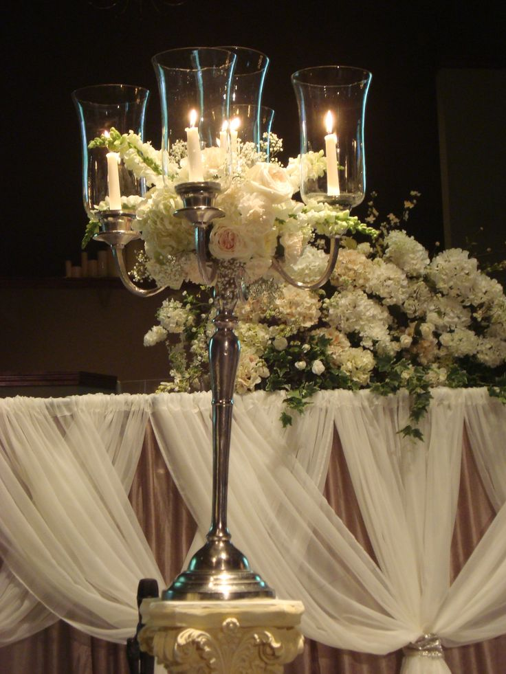 17 best ideas about wedding altar decorations on pinterest for Altar decoration wedding