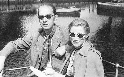 Phillip Larkin & Monica Jones