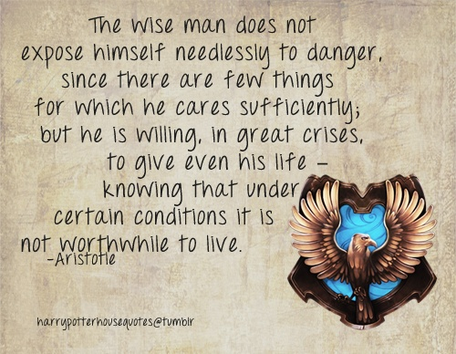 Harry Potter House Quotes: 17 Best Images About Ravenclaw: House Of The Wise On