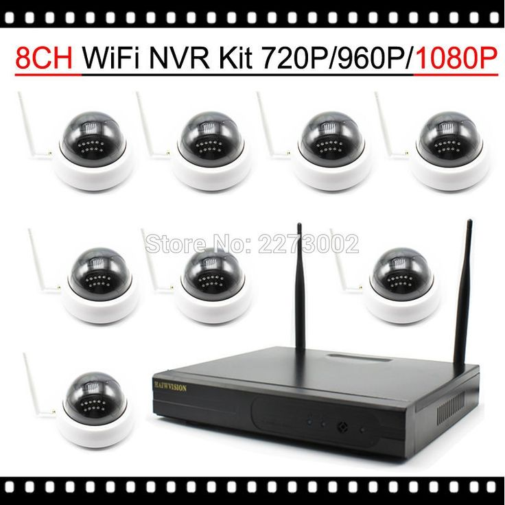 445.49$  Buy now - http://ali709.worldwells.pw/go.php?t=32753554321 - HD 1080P WiFi IP Camera System 8CH with 8Pcs Indoor IR Dome Wireless Camera Plug and Play 2MP 960P 720P