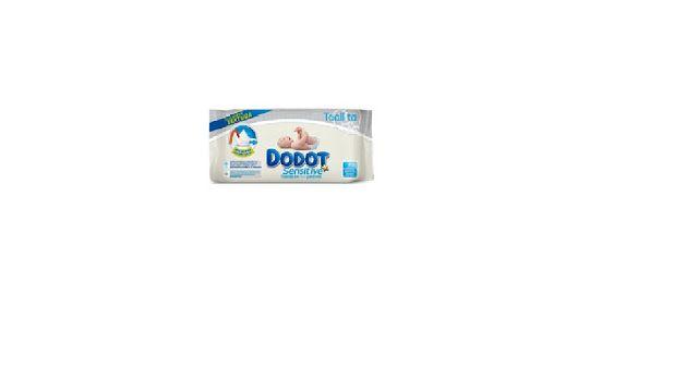 Muestras gratis toallitas Dodot sensitive