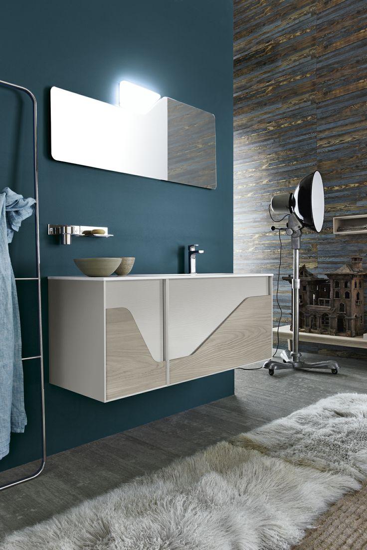 Bagno Free con finitura marmoresina bianco opaco http://www.cerasa.it/it_IT/bagni/design/free/arredare-bagni_classici-free-68-69