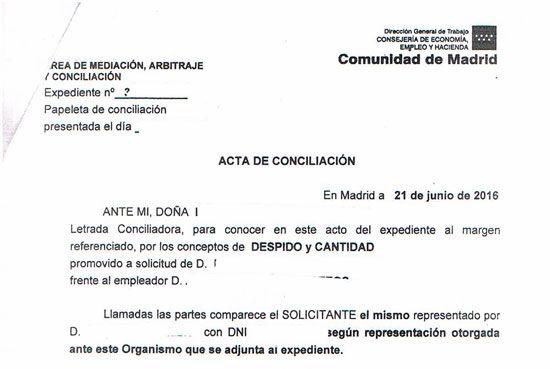 El acto de conciliación administrativa. En qué consiste y qué tipo de acuerdos pueden alcanzar el trabajador y la empresa antes de llegar al juicio laboral.