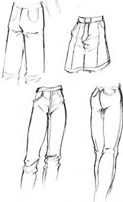 † ( ¯ ` ° • . ¸ ¯ ` ° • .Love. • ° ´ ¯ ¸ . • ° ´ ¯ ) † - cách vẽ nếp gấp quần áo cho nhân vật