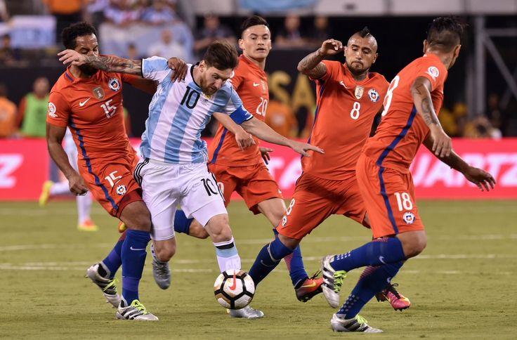 Messi vs Chile #CopaAmerica2016