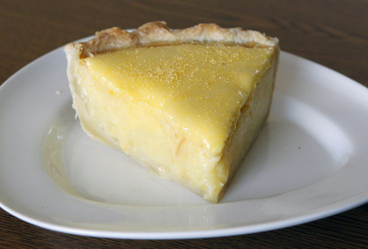 Double Lemon Chess Pie -- this is a must-bake.