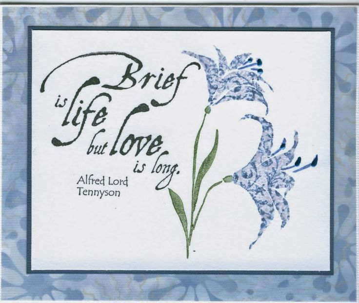 lilies 2698F, love is long 3309E: Stamp-it Australia. Card by Susan of Art Attic Studio