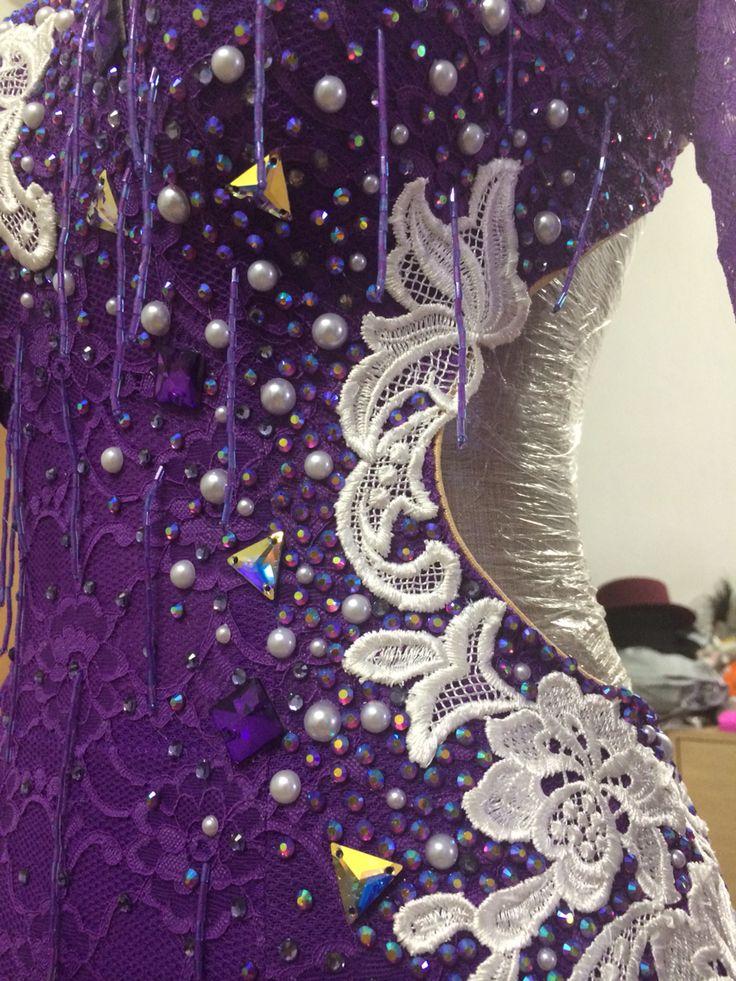 Latin dress By Pakaorn Kuituan ( Best Design Dancewear )