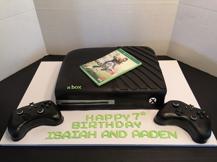 "Xbox One cake! Please ""like"" Get Caked by Stacy on Facebook!"