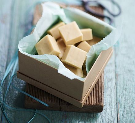 Vintage vanilla fudge. Box up these melt-in-the-mouth sweet, buttery cubes - they make a fabulous gift for any occasion