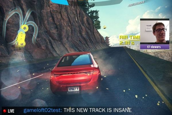 STREAM YOUR ASPHALT 8 FOR IOS GAMEPLAY ON TWITCH NOW Posted on Mar 18, 2014    The first big Xbox One system update, which arrived earlier t...