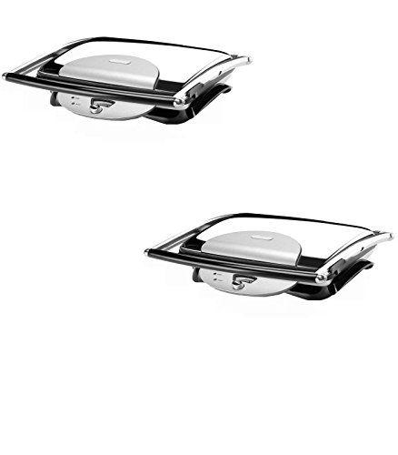9.5-in L x 11.5-in W Foldable Electric Griddle - De'Longhi Model - CGH800 - Set of 2 Gift Bundle