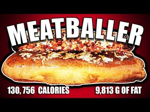 Meatballer - Epic Meal Time - http://www.bestrecipetube.com/meatballer-epic-meal-time/
