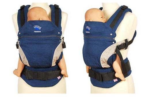 $119.99 WORLDWIDE FREE SHIPPING  MANDUCA BABY CARRIER- BLUE  with box and manual  YOU CAN FIND THE MANDUCA NEW STYLE CARRIER IN 5 COLORS IN OUR SHOP.  Please leave us message after the order what colour need
