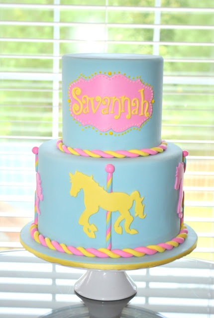 Hope's Sweet Cakes: Carousel Cake