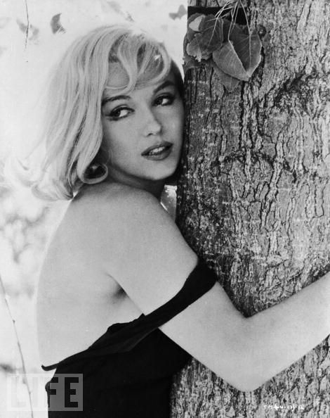 "Marilyn poses during last movie ""Misfit"""