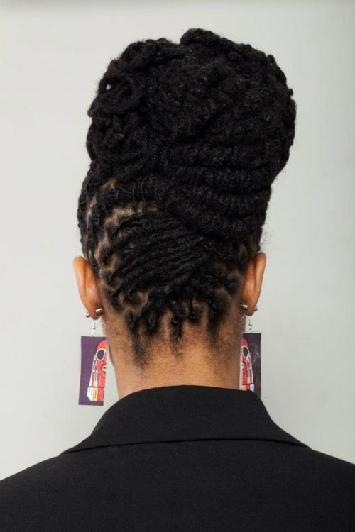 Best 25 dreadlocks updo ideas on pinterest dread bun white pretty locsdreadlocks updo one luv dreadstop dreadstop dreadlocks pmusecretfo Image collections