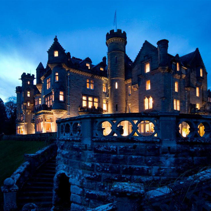 Castles & Manor Houses | lovebeautyawonderfulworld: Skibo Castle, Scotland
