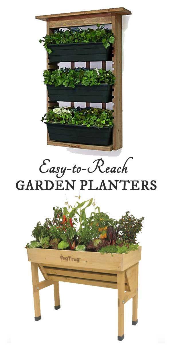 toreach garden planters