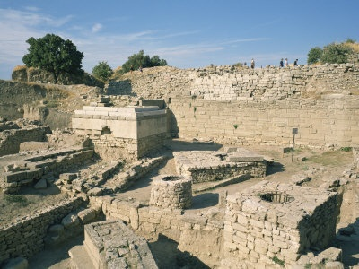 The ancient city of Troy - Turkey. Both the traveler and the book nerd in me want to see this so badly.